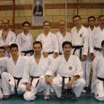 Grupo gimnasio Funakoshi